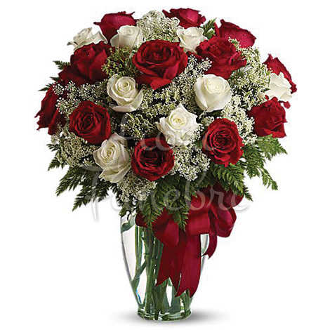 bouquet-di-rose-rosse-rosa