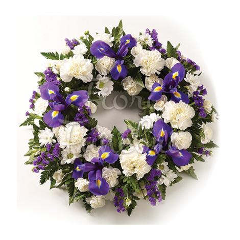 corona_funebre_fiori_bianchi_blu