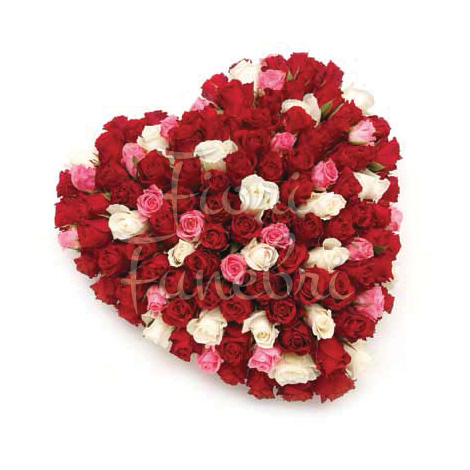 cuore-100-rose-rosse-rosa-bianche